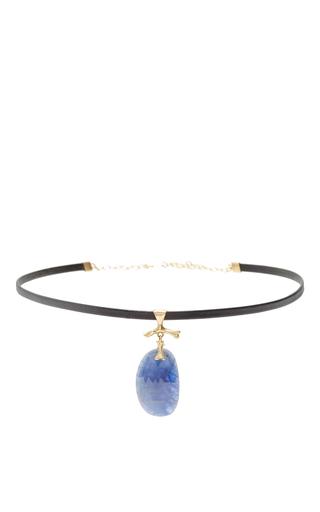 Medium annette ferdinandsen gold sapphire jewel choker