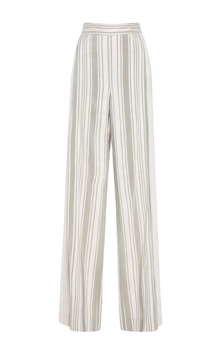 Medium bibhu mohapatra stripe stripe pleated trousers