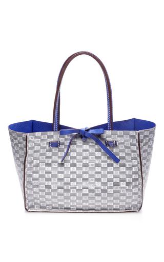 Medium moreau blue vincennes medium horizontal bag 5