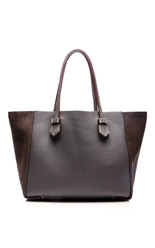 Medium moreau dark grey vincennes medium pouch bag