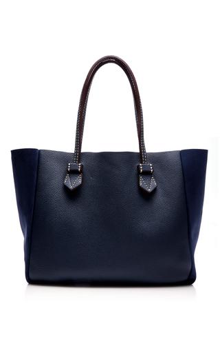 Medium moreau navy vincennes medium pouch bag 2