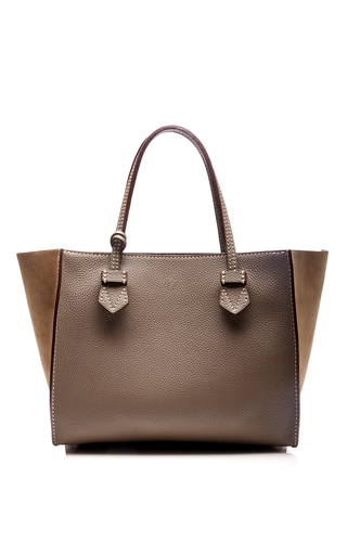 Medium moreau brown bregancon small zip bag 2