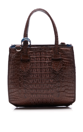 Medium moreau brown bregancon mini zip bag 2
