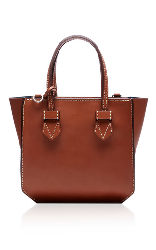 Medium moreau brown bregancon mini zip bag 3