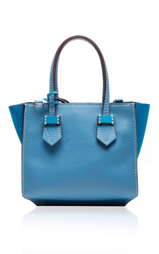 Medium moreau blue bregancon mini zip bag 4