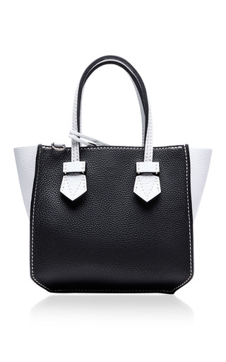 Medium moreau black bregancon mini zip bag 5