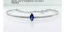 Medium sutra blue blkrd blue sapphire diamond nwl necklace