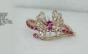 Medium sutra pink rg pink tourmaline nwl bracelet