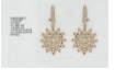 Medium sutra pink rg morganite nwl earring ii