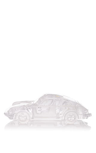 Medium mantiques modern neutral crystal 911 porsche turbo by french crystal company daum