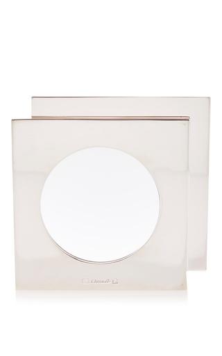 Medium mantiques modern silver vintage christofle desktop magnifier