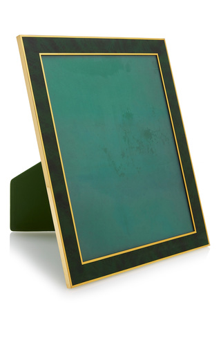 Medium mantiques modern green large hermes green lacquer picture frame