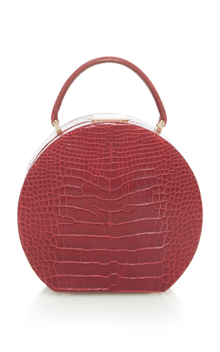 Bumi 14cm Viola Alligator Tote BU Wood Norwd