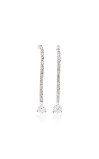 Medium ana khouri gold diamond lena earrings