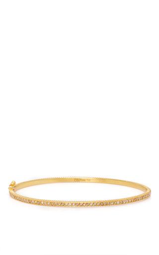 Medium yossi harari gold lilah oval bracelet