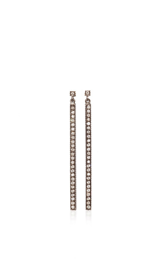 Medium yossi harari gold lilah stick earrings