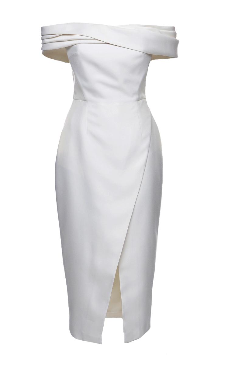 Shoulder Wrap Dress for Cocktail