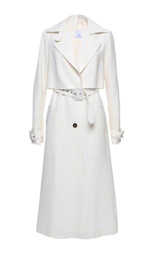Medium elenareva neutral belted trench coat