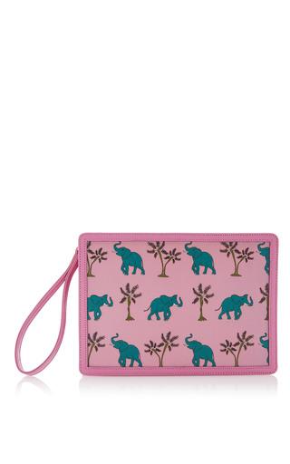 Medium reine pink pink elephantastic illuminating clutch