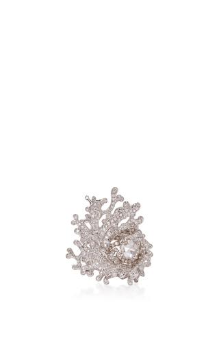 Medium neha dani white diamond nerissa ring