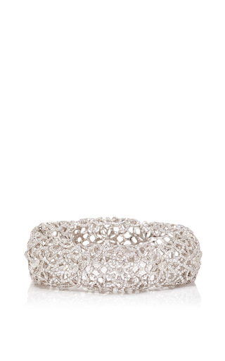 Medium neha dani white diamond tidal bangle