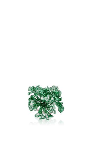 Medium neha dani green myra ring