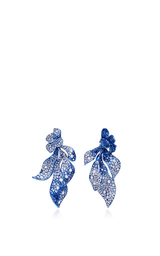 Medium neha dani blue nitza earrings