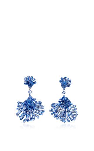 Medium neha dani blue corail earrings