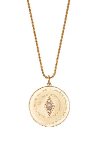Medium venyx grey bespoke cancer coin pendant and chain