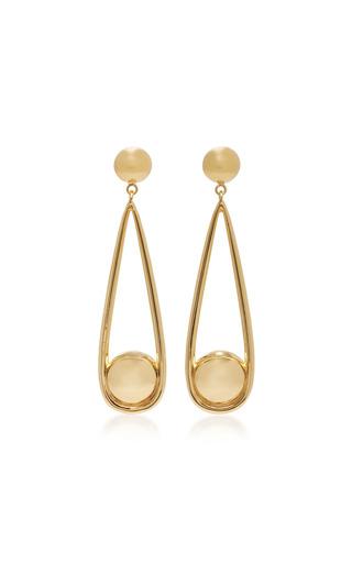 Medium agmes gold claire gold vermeil earrings