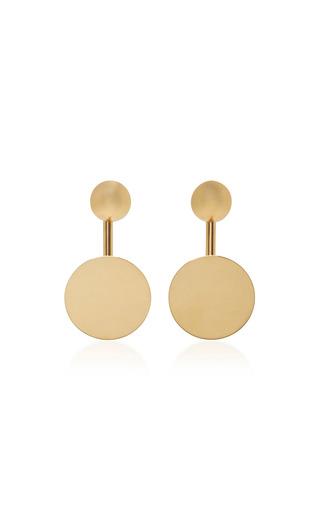 Medium agmes gold nora gold vermeil earrings