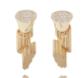 Medium completedworks gold ruined column earrings pair