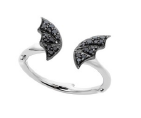 Medium stephen webster black fly by night pave mini ring