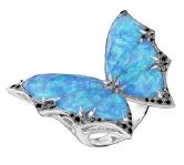 Medium stephen webster blue fly by night crystal haze small ring