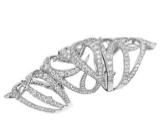 Medium stephen webster silver thorn long finger ring