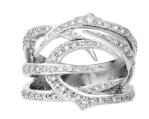 Medium stephen webster silver thorn ring