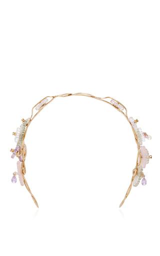 Medium alice cicolini gold summer snow hair jewel