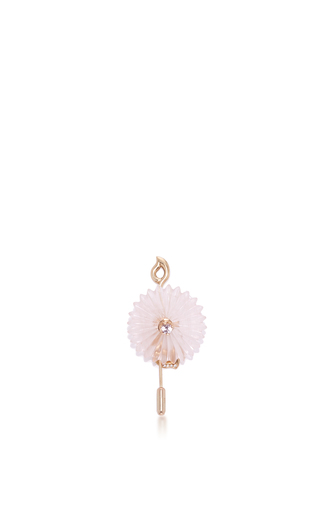 Medium alice cicolini gold summer snow brooch and hair pin