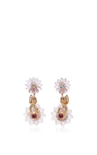 Medium alice cicolini gold summer snow drop earrings