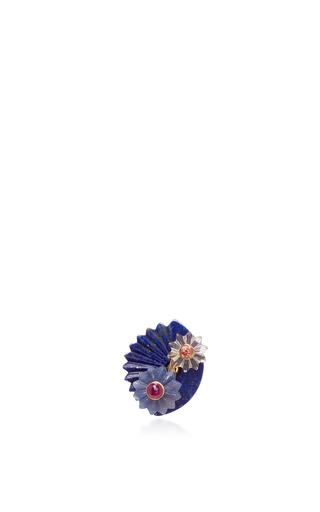 Medium alice cicolini blue summersnow blue double disk single ear jacket