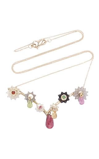 Medium alice cicolini pink summer snow dark branch layering necklace