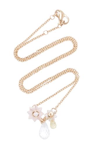 Medium alice cicolini gold summer snow small layering necklace