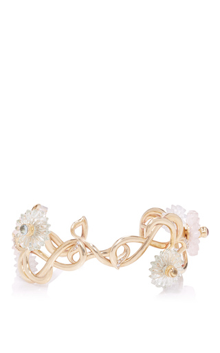 Medium alice cicolini gold summer snow torque bangle