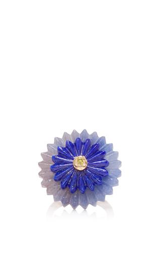 Medium alice cicolini blue summer snow ring in blue sapphire