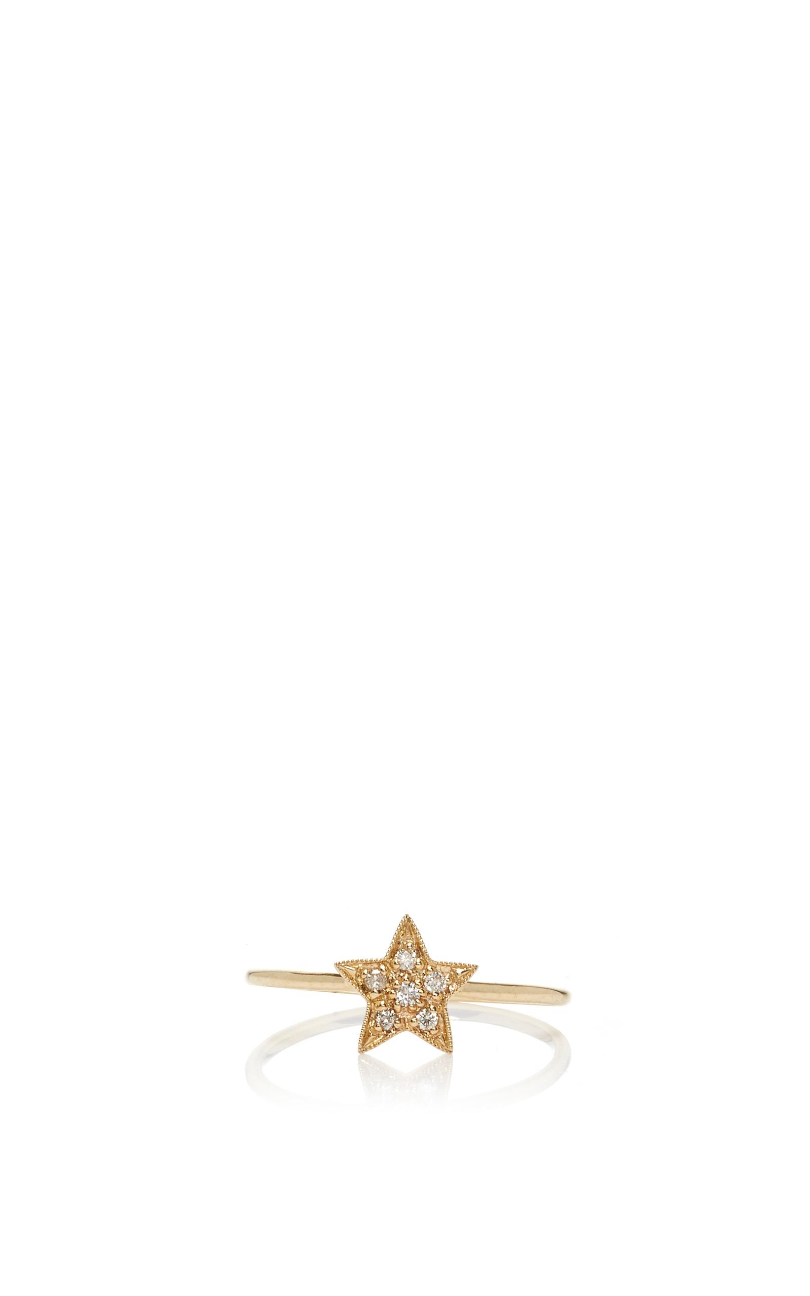 Small Star Ring By Sydney Evan Moda Operandi