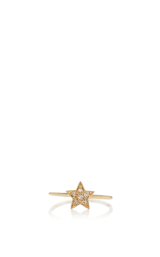 Medium sydney evan gold small star ring