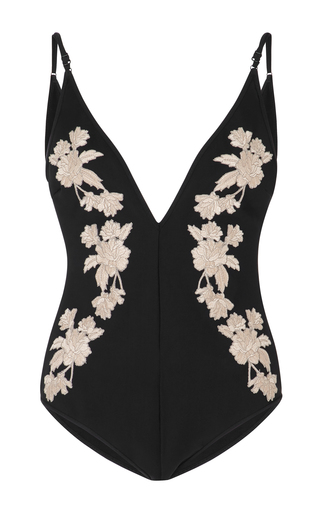 Medium zimmermann black divinity one piece swimsuit