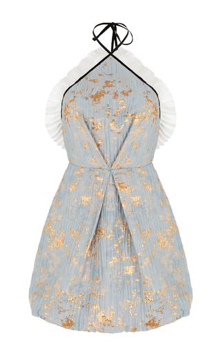 Medium rasario blue pleated mini dress
