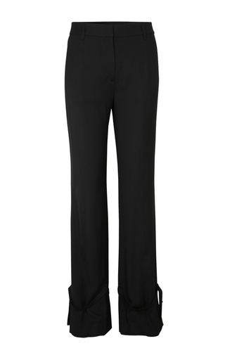 Medium dorothee schumacher black dancing movement ribbon pants