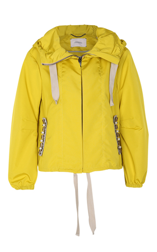 Medium dorothee schumacher yellow sporty seduction embellished jacket